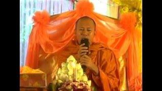 បុណ្យគម្រប់ខួប និងចម្រើនព្រះជន្ម / san pheareth - khmer movie - khmer dharma page