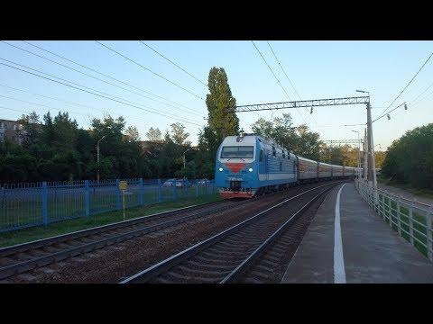 Теперь через Главный! // ЭП1М-414 с поездом №539 Кострома — Анапа.