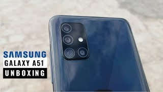 Samsung Galaxy A51 6GB Unboxing | Prism Crush Black Color