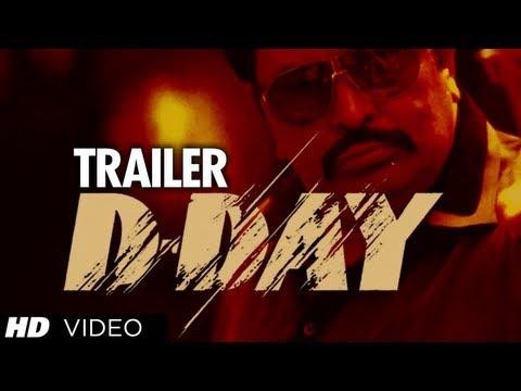 D-Day Theatrical Trailer | Rishi Kapoor, Arjun Rampal, Irrfan Khan, Huma Qureshi & Shruti Haasan