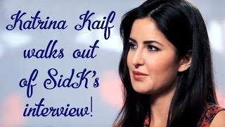 Katrina Kaif walks out of Siddharth Kannan