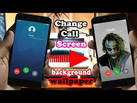 Trick To Change Call Screen Background Wallpaper in Any Xiaomi Redmi Device | Without Root | Hindi