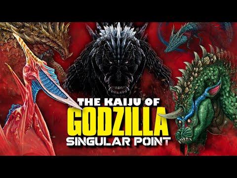The Kaiju of Godzilla Singular Point