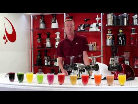 Sana Juicer by Omega – Introducing and Juicing video