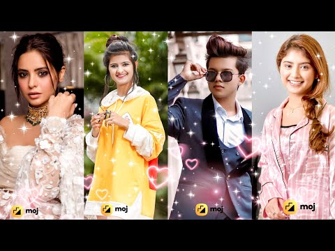 Moj short videos New Tiktok Funny & Attitude Videos Of Jannat Zubair,Mr.Faisu,RiyazAly, Arishfa Khan