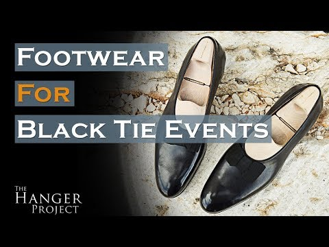 Shoes You Should Wear For A Black Tie Event