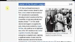 Role of Ahmadis/Qadianis in creation of Pakistan, Who convinced Quaid e Azam Muhammad Ali Jinnah
