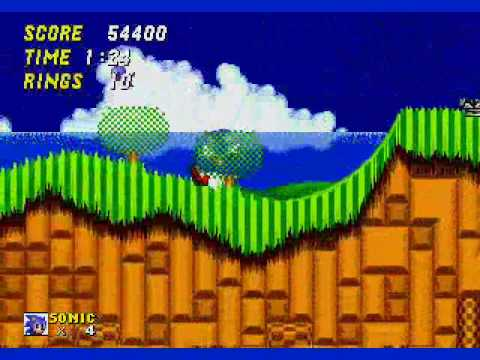 Sonic The Hedgehog 2 Emerald Hill Zone Part 1 Youtube