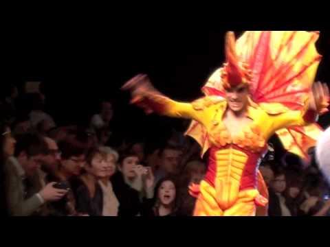 VIDEO 3 in HD - IL MUSICAL PRISCILLA SFILA A MILANO - 25.2.2012
