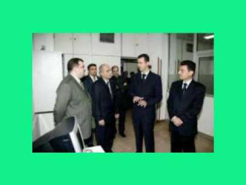 H. E. President Bashar Al-Assad Elections 2007 Video 1.