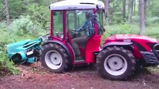 Antonio Carraro SRH 9800 mit mera Forstmulcher