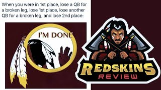 Injuries End Redskins Season