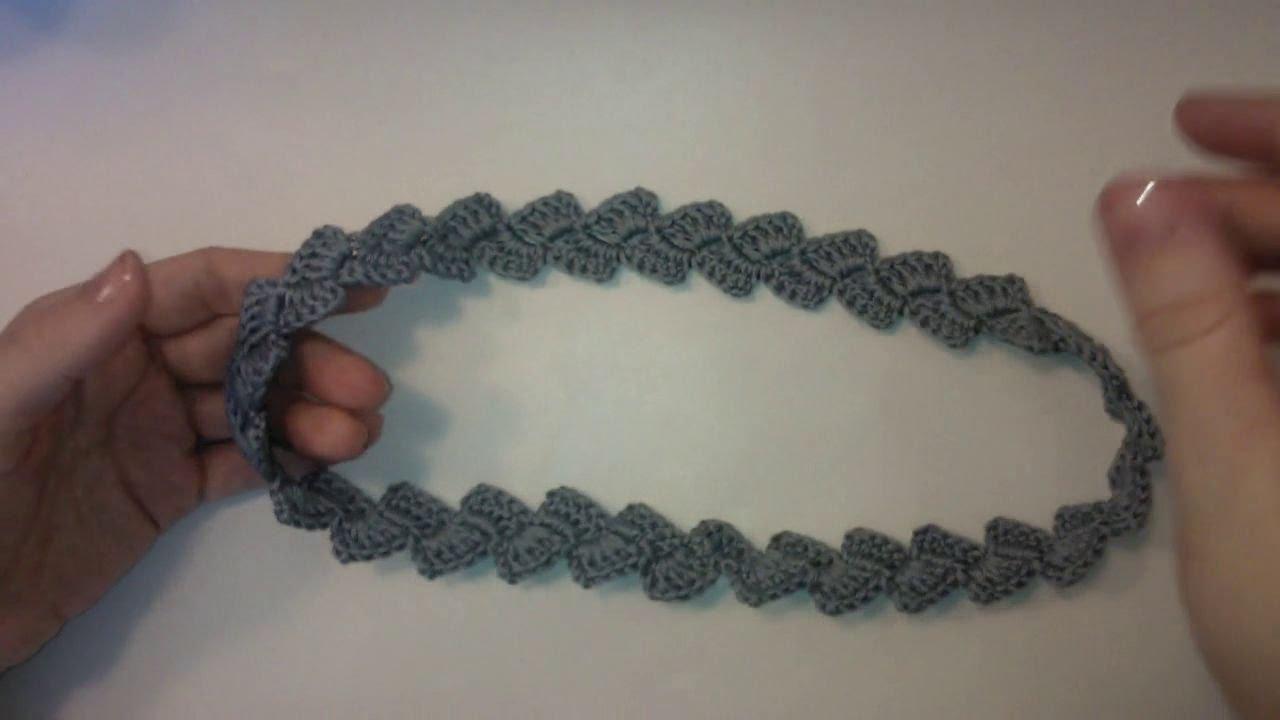 тесьма косичка поясок вязание крючком для начинающих Crochet