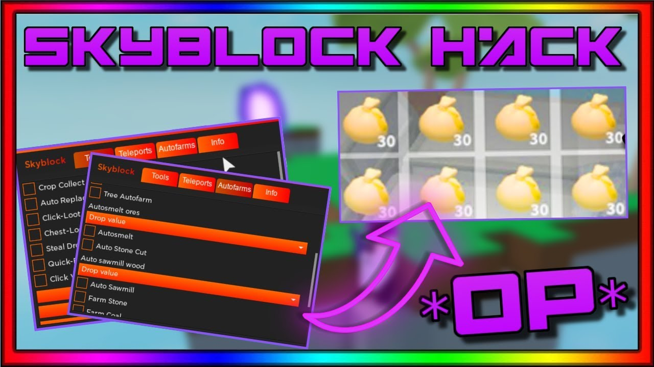 July 3 2020 Roblox Skyblock Hack Script Steal All Items