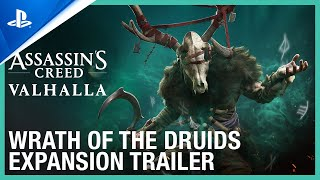 Assassin's Creed Valhalla - Wrath of the Druids Expansion Trailer | PS5, PS4