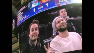 Taylor Kitsch and Chace Crawford (hockey time)