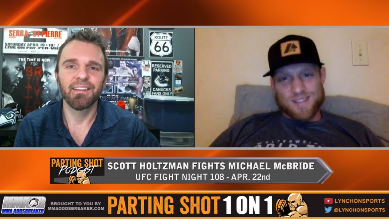 """UFN 108's Scott Holtzman """"I'm going to be throwing fastballs at Michael McBride"""""""