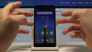 снимок с экрана Xiaomi Redmi Go