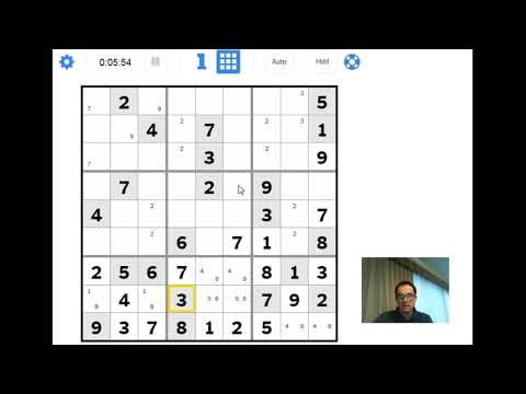 The New York Times Hard Sudoku:  The Most Important Trick
