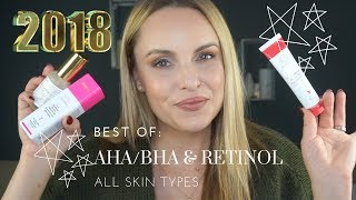 BEST OF 2018: AHA/BHB & RETINOL || Myth OR Fact??? What you need to know