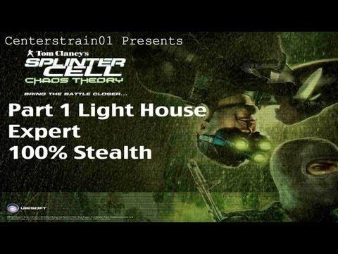 Splinter Cell: Chaos Theory - Stealth Walkthrough Part 1 - Lighthouse