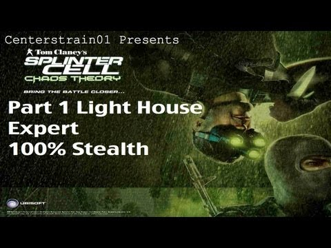 Splinter Cell: Chaos Theory - Stealth Walkthrough Part 1 - Lighthouse