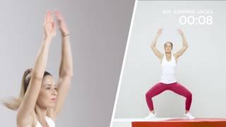 BODY FIT - Jumping jacks : Pour affiner les fesses et les cuisses