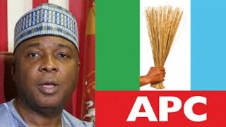 APC SENATORS SHEATH SWORDS AGAINST SARAKI...NIGERIANS REACTS