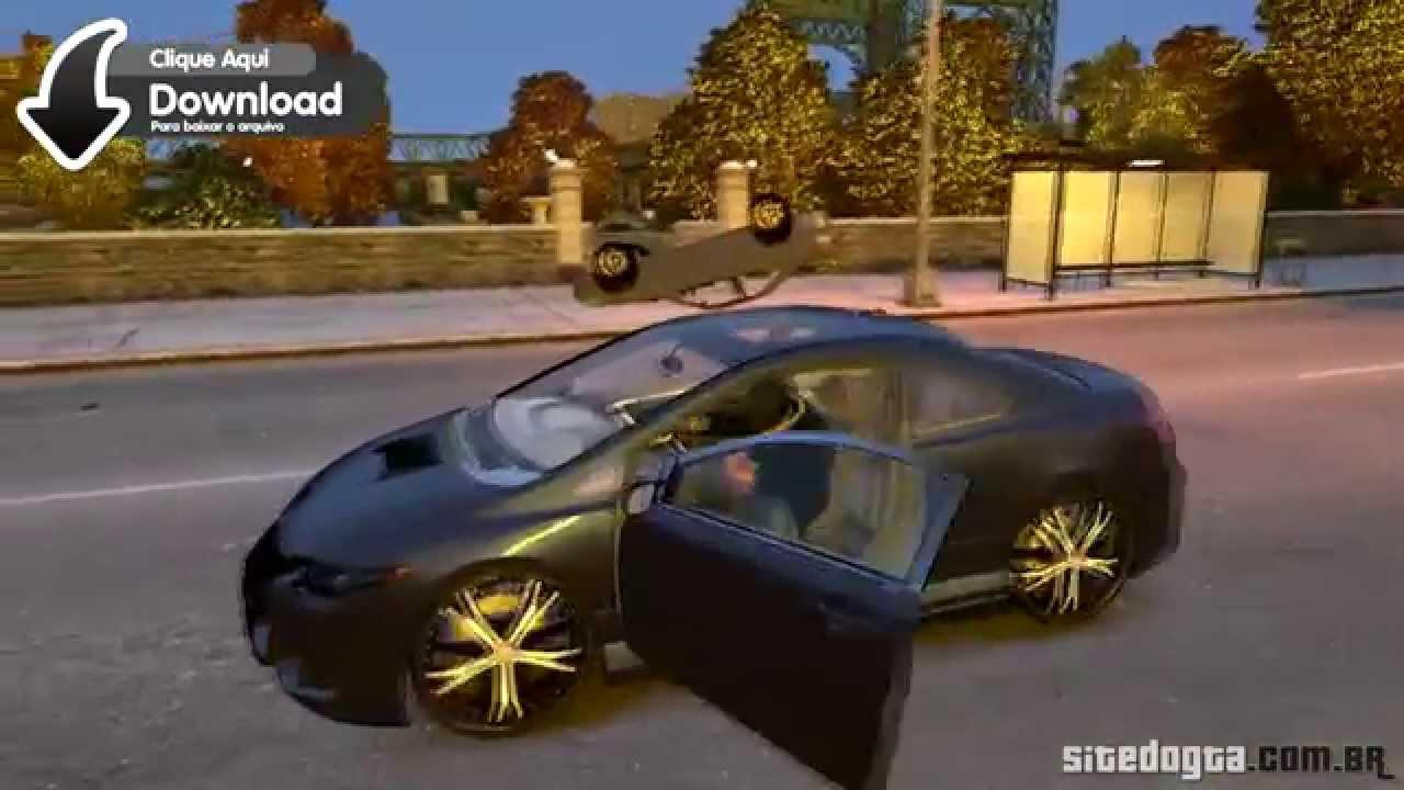 Honda Civic Si Tuning GTA IV Mod  YouTube