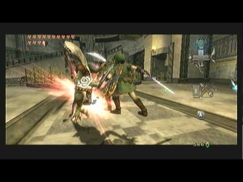"Legend of Zelda Twilight Princess Walkthrough 17 (1/6) ""Temple of Time: Dungeon Map"""