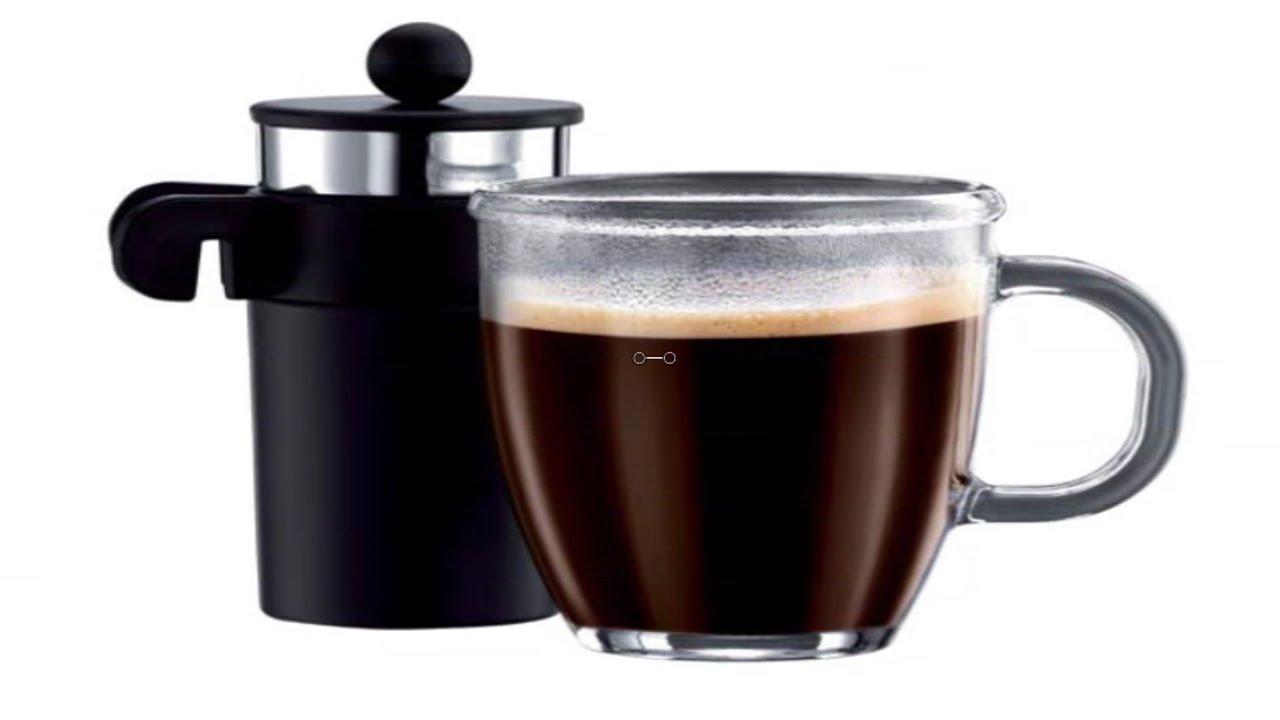 bodum bistro mug press personal coffee and tea maker youtube. Black Bedroom Furniture Sets. Home Design Ideas