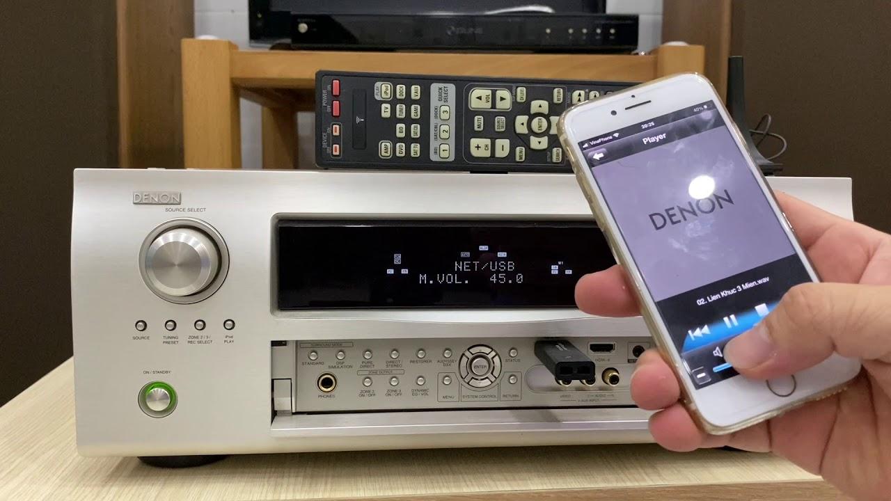 Denon AVR 3311 trùm công nghệ.670w, hdmi,usb lossless,Internet,Remote, sách.Lh 0834563852