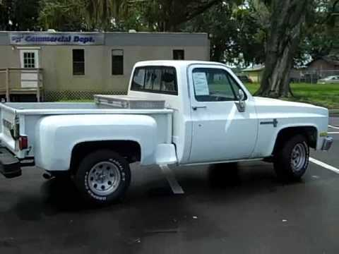 video 39 86 used chevy pickup truck for sale gainesville fl 1 866 371 2255 youtube. Black Bedroom Furniture Sets. Home Design Ideas