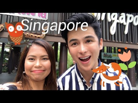 My First Time Abroad With Teejay Marquez! (TEENAY ON SINGAPORE #GetKlookd)