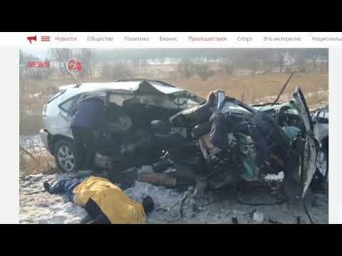 Водитель лексуса погиб в аварии под Уссурийском