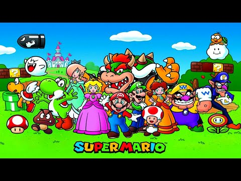 Defeat of Super Mario Bros Villains |