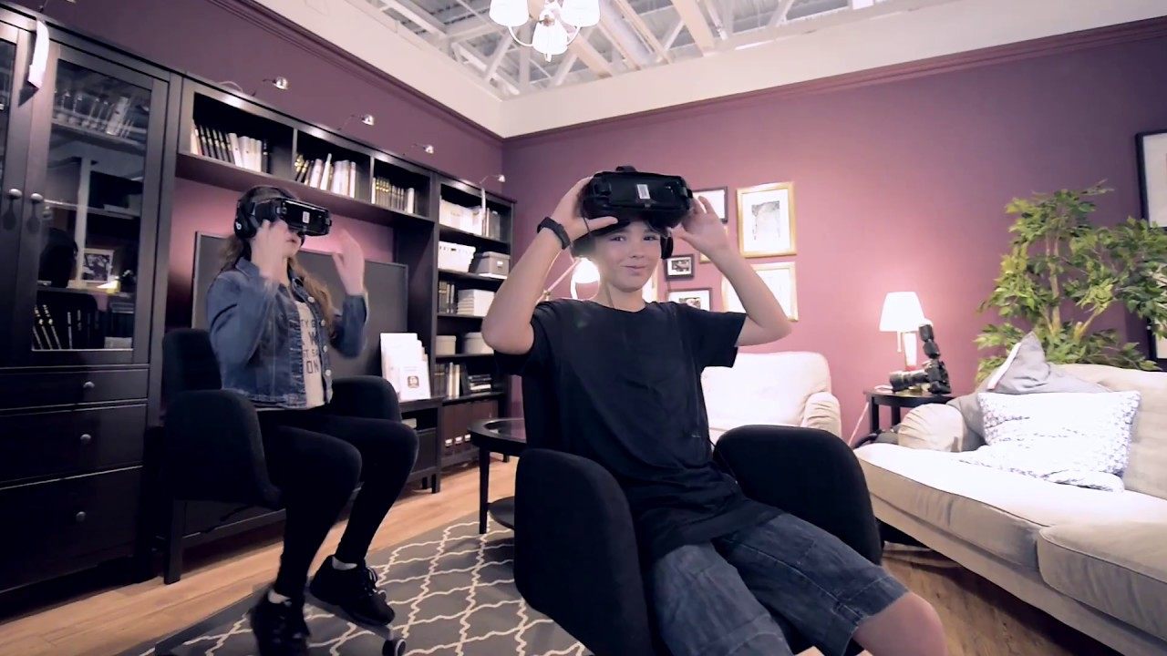 866cee48d82 IKEA VR EXPERIENCE VIDEO - YouTube