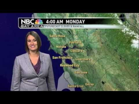 NBC BayArea Gina De Vecchio Weathercasts YouTube