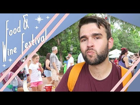 Epcot's Food & Wine Festival | September 2017 | Walt Disney World Vlog | Adam Hattan