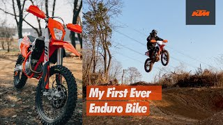NEW BIKE DAY l KTM EXC-F 250 l My First Ever Enduro Bike