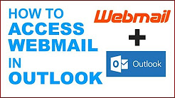 How to access Webmail in Outlook | How to Setup Webmail in Microsoft Outlook | Outlook email