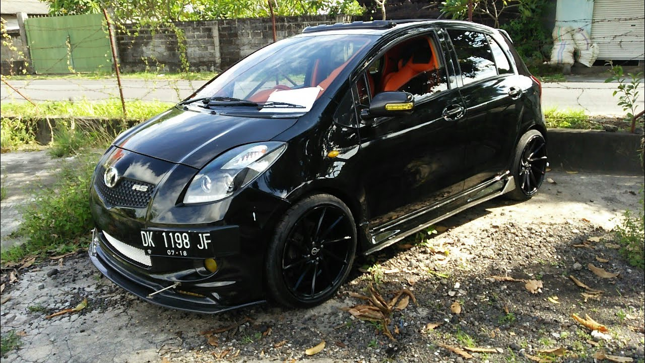 Toyota Yaris 2007 Modifikasi Full Audio Bodykit Youtube