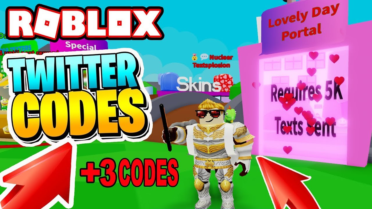 NEW VALENTIME DAY TEXTING + 3 CODES | Texting Simulator Roblox! BOOSTS