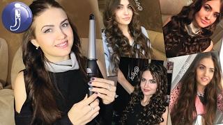 видео Конусные плойки для волос - как выбрать и как накручивать?