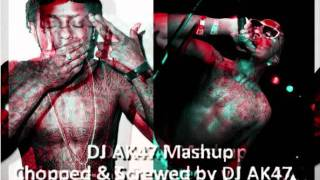 Lil Wayne & Lil B - Viva La White Girl Mashup C&S by DJ AK47