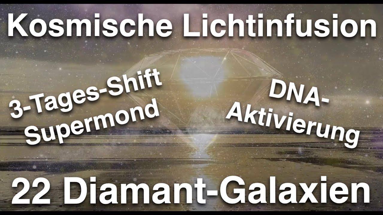 Licht-Infusion aus den 22 Galaxien