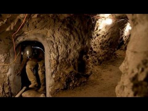 Drug cartels reusing border tunnels left unfilled by Mexico