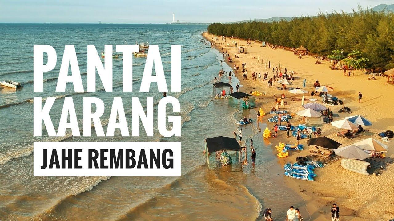 Keindahan Wisata Pantai Karang Jahe Beach Rembang Jawa Tengah - Liburan  Keluarga Part 8
