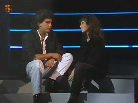 Glenn Medeiros & Elsa Lunghini - Un roman d'amitie - Studio performance 16/10/1988
