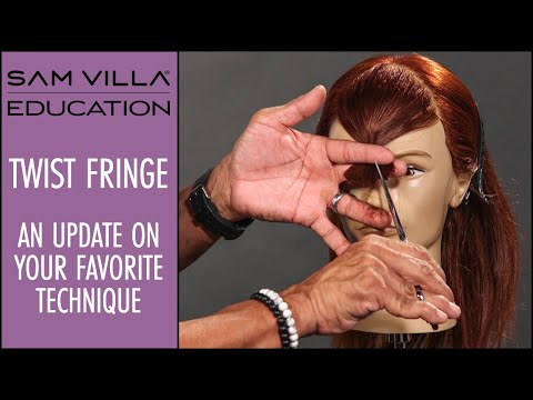 Twist Fringe / Twist Bang Technique - An update to your favorite technique!